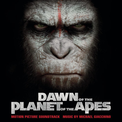 Dawn Of The Planet Of The Apes BO CD